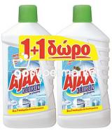 AZAX KLORON ΥΓΡΟ ΓΕΝ.ΚΑΘΑΡΙΣΜΟΥ REGULAR 1LT 1+1ΔΩΡΟ