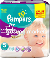 PAMPERS ACTIVE FIT N5 38TEM