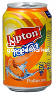 LIPTON 330ML ICE TEA ΡΟΔΑΚΙΝΟ