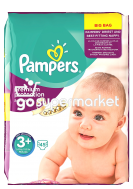 PAMPERS ACTIVE FIT MIDI PLUS 5-10KGR 45ΤΕΜ