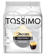 JACOBS TASSIMO ESPRESSO RISTRETTO 16ΤΕΜΧ8ΓΡ (128GR)