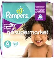 PAMPERS ACTIVE FIT ΠΑΙΔΙΚΕΣ ΠΑΝΕΣ Ν6 15+ KGR 35ΤΕΜ