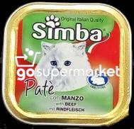 SIMBA PATE MANZO ΓΑΤΟΤΡΟΦΗ 100ΓΡ