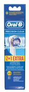 OralB Precision Clean Ανταλλακτικά Βουρτσάκια, 2+1 Δώρο
