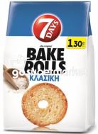 7DAYS BAKE ROLLS ΚΛΑΣΣΙΚΗ 160ΓΡ +50% ΠΡΟΙΟΝ