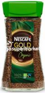 NESCAFE GOLD BLEND ORGANIC 100GR (ΓΥΑΛΙ)