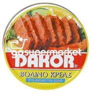 DAKOR ΒΟΔΙΝΟ ΚΟΝΣΕΡΒΑ 200ΓΡ