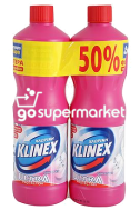 KLINEX ULTRA PINK 2X1250ML 50% ΦΘΗΝΟΤΕΡΑ.