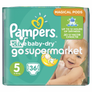 PAMPERS BABY DRY ΠΑΝΕΣ Ν5 11-18KGR 36TEM