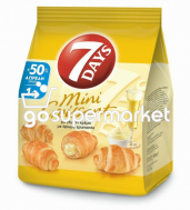 7DAYS MINI CROISSANT ΜΕ ΚΡΕΜΑ +50% 107ΓΡ (€ 1,00)