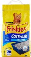 FRISKIES CAT FRESH CLASSIC ΑΜΜΟΣ ΥΓΙΕΙΝΗΣ ΓΑΤΑΣ 5KGR