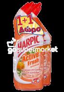 HARPIC 1+1ΔΩΡΟ ACTIVE FRESH ΠΑΠΙ ΤΟΥΑΛΕΤΑΣ