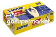 SANITAS ΓΑΝΤΙΑ ΜΙΑΣ ΧΡΗΣΗΣ 80ΤΕΜ SMALL