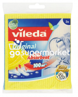 VILEDA ORIGINAL SUPER ABSORBENT 100ML 3ΤΕΜ