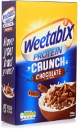 WEETABIX PROT.CRUNCH CHOCOLATE ΔΗΜΗΤΡΙΑΚΑ 450ΓΡ