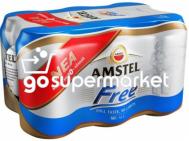 AMSTEL FREE ΜΠΥΡΑ ΚΟΥΤΙ 6Χ330ML