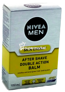 NIVEA AFTER SHAVE DOUBLE ACTION BALSAM 100ML