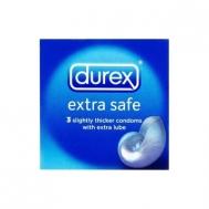 DUREX EXTRA SAFE ΠΡΟΦΥΛΑΚΤΙΚΑ 3ΤΕΜ