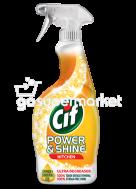 CIF POWER&SHINE SPRAY ΚΑΘΑΡ.ΚΟΥΖΙΝΑΣ 500ML