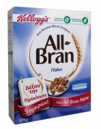 KELLOGS ALL BRAN FLAKES 375GR