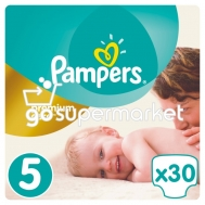 PAMPERS PREMIUM CARE ΠΑΙΔΙΚΕΣ ΠΑΝΕΣ Ν5 11-18KGR 30ΤΕΜ
