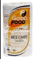 GOOD FOOD RICE CAKES 100GR