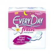 EVERY DAY FRESH MAXI NIGHT ULTRA PLUS 10ΤΕΜ ΣΕΡΒΙΕΤΕΣ