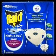 RAID NIGHT&DAY ΑΝΤΑΛΛΑΚΤΙΚΟ 1ΤΕΜ
