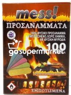 MESS ΠΡΟΣΑΝΑΜΜΑΤΑ ΞΥΛΟΥ 100ΤΕΜ