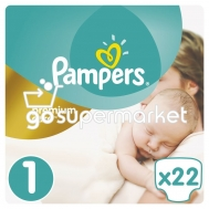 PAMPERS PREMIUM CARE N1 2-5KGR 22ΤΕΜ