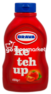 BRAVA KETCUP ΠΛΑΚΕ 490GR