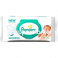 PAMPERS SENSITIVE ΜΩΡΟΜΑΝΤΗΛΑ ΑΝΤΑΛ/ΚΟ ΜΕ ΚΑΠΑΚΙ 56ΤΕΜ