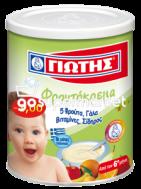 ΓΙΩΤΗΣ ΦΡΟΥΤΟΚΡΕΜΑ 5ΦΡΟΥΤΑ 300ΓΡ €-1,00