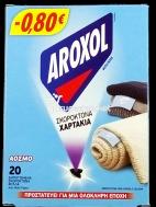 AROXOL ΣΚΟΡΟΚΤΟΝΑ ΧΑΡΤΑΚΙΑ 20ΤΕΜ €-0,80