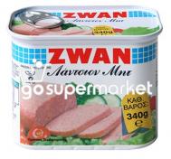 ZWAN LUNCHEON MEAT ΚΟΝΣΕΡΒΑ 340ΓΡ