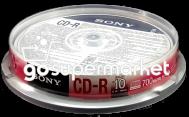 SONY CD-R ΘΗΚΗ 10ΤΕΜ