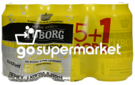 TUBORG LEMON SODA 330ML 5+1ΔΩΡΟ ΚΟΥΤΙ