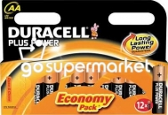 DURACELL PLUS POWER AA ΑΛΚΑΛΙΚΕΣ ΜΠΑΤΑΡΙΕΣ 12ΤΕΜ