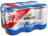 AMSTEL FREE ΜΠΥΡΑ ΚΟΥΤΙ 0% ALC. 6X330ML