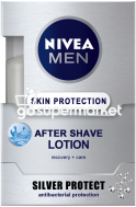 NIVEA AFTER SHAVE LOTION SILVER PROTECT 100ML