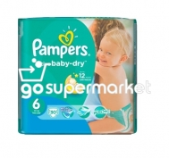 PAMPERS BABY DRY ΠΑΝΕΣ ΠΑΙΔ.Ν6 15+KGR 30ΤΕΜ