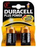 DURACELL PLUS POWER ΜΠΑΤΑΡΙΕΣ C 2ΤΕΜ