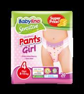 BABYLINO PANTS GIRL ΠΑΝΕΣ N4 8-15KGR 20ΤΕΜ