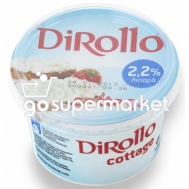 DIROLLO COTTAGE CHEESE 225GR