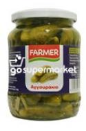FARMER ΑΓΓΟΥΡΑΚΙΑ ΤΟΥΡΣΙ ΒΑΖΟ 720ML
