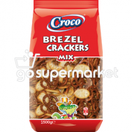 CROCO CRACKERS-BREZEL MIX 1500GR