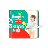 PAMPERS B.DRY PANTS JUNIOR Ν5 12-18KGR 21ΤΕΜ