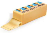 MILNER ΤΥΡΙ GOUDA (ΖΥΓΙΖΟΜΕΝΟ*)(200ΓΡ)