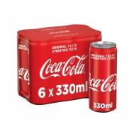 COCA COLA ΚΟΥΤΙ 6Χ330ML
