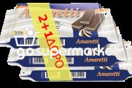 AMARETTI ΓΚΟΦΡΕΤΕΣ BLACK&WHITE 90ΓΡ 2+1ΔΩΡΟ